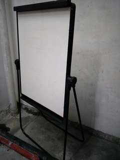 White board with stand.