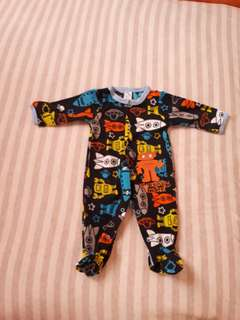 Sleepsuit baby / baju tidur