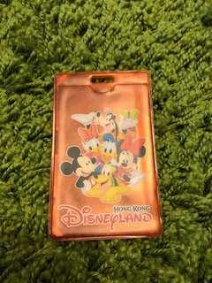 🚚 香港迪士尼限定 Disneyland 迪士尼 卡套 證件套 識別證套