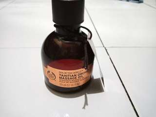 New Tahitian Orchid Massage Oil