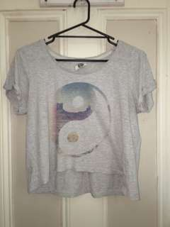 Cotton on Yin Yang T-Shirt