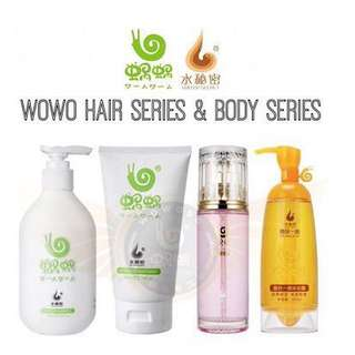 Wowo Hair & Body Set