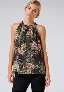 Forever New - Chloe gathered neckline cami *bnwt* size 10
