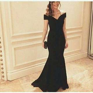 Promo! New Dress elegant black import