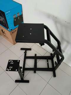 Driving simulator racing rig stand