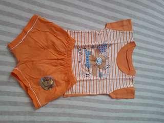 Baju setelan baby