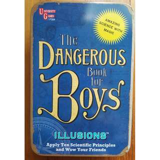 "The Dangerous Book for Boys ""Illusions"" Magic box (8 years and up)"