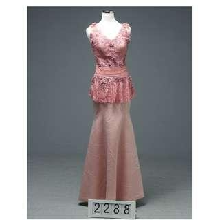 Gaun malam Preloved 2288