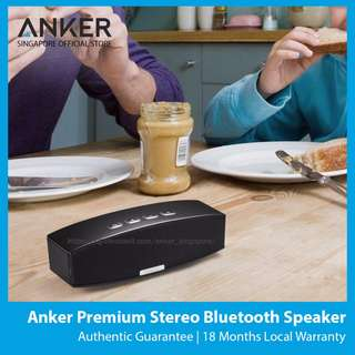#SALE Anker Premium Stereo Bluetooth Speaker *Ready Stock*