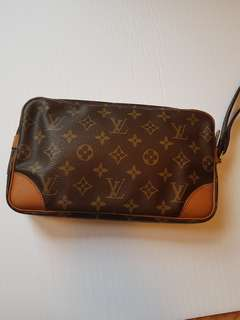 Authentic LV marly dragonne clutch wristlet