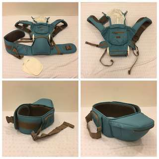 Picolo Four Season Baby Hipseat Carrier - 3 ways (Hipseat, Carrier, Hipseat Carrier) - BLUE