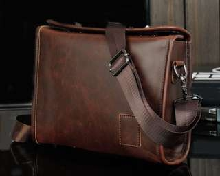 Leather Mens Cross bag