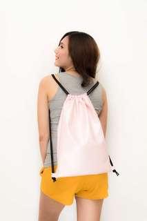 Leather String Bag