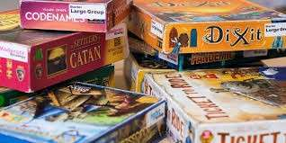 Selling used board games!