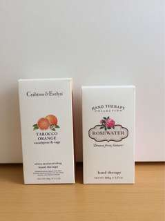 Crabtree & Evelyn Hand Therapy- Orange/Rose
