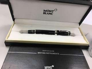 MONTBLANC VERY RARE BLACK RUBY INK PEN BOHEME NOIR MODEL M5777/5778
