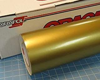 Oracal 651 glossy gold 12 inch x 50 m roll