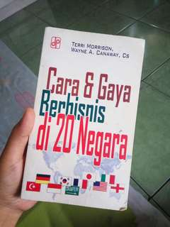CARA & GAYA BERBISNIS DI 20 NEGARA