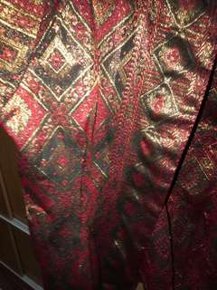 Elegant songket/brocade blazer (RARE PIECE!) - size xxl