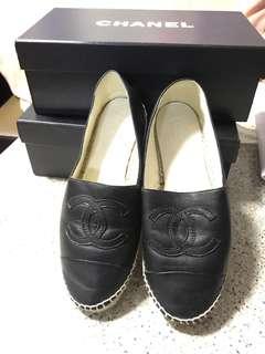 Chanel 黑色羊仔皮Size 36-36.5