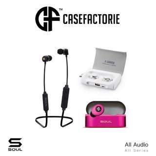 Soul Prime X-Shock ST-XS Bluetooth Wireless Earphones