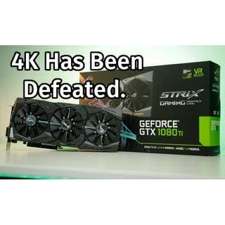 [MINT] Asus ROG STRIX GTX 1080Ti ( 1080 Ti) Nvidia Gaming Graphics Card GPU