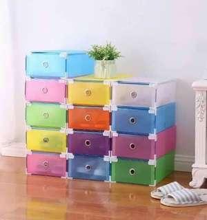 Stackable Plastic Shoebox