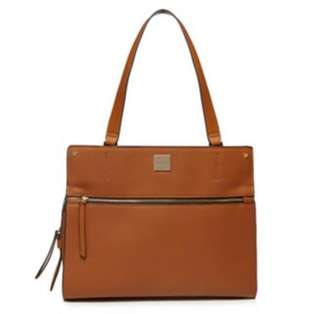 Principles Tan Tote Bag