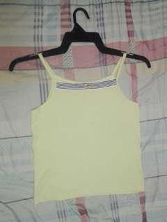 Yellow Halter Top
