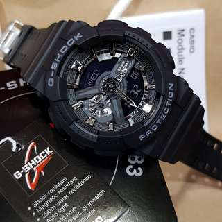 jam g shock GA-110 FULL BLACK