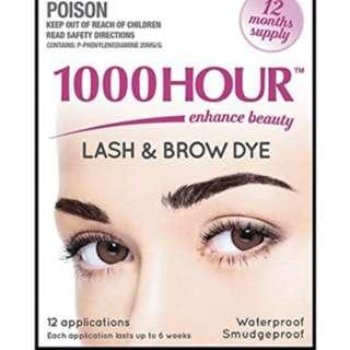 Lash & brow tint