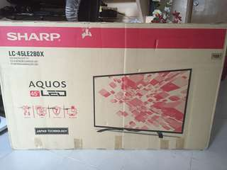"SHARP AQUOS  45"" LED TV"