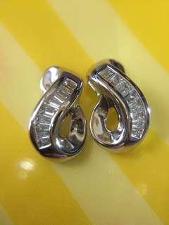 🔥💛 發財 18K鑽石耳環 💛🔥