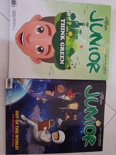 Asian Geographic Junior Magazines for Primary achool