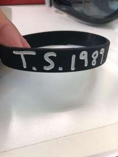 Taylor swift wristband