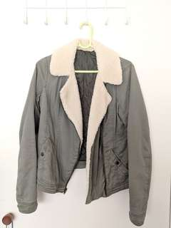 Hollister Khaki Jacket