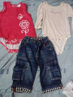 Take all Babies cloth 6-12months