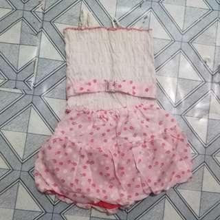 Terno skirt+sando