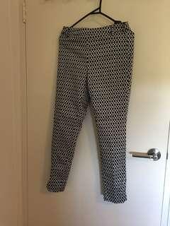 Pattern pant