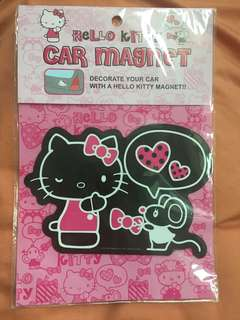 Authentic Sanrio Hello Kitty Car Magnet