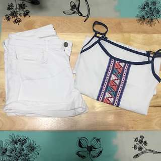 👚Classy White Fashion