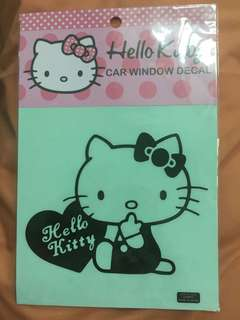 Authentic Sanrio Hello Kitty Car Window Decal