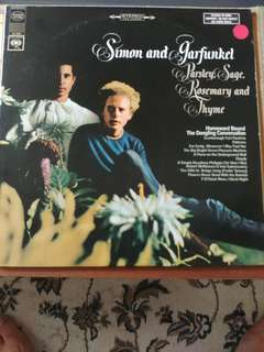Vinyl Record Simon and Garfunkel Parsley sage Rosemary and Thyme