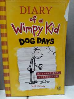 Diary of wimpy kid set of 8