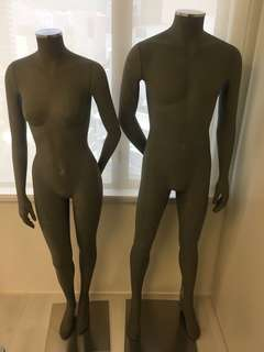 Mannequins(Man and Lady)