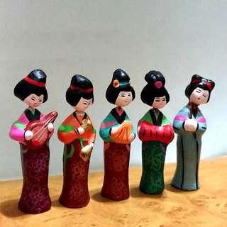 中國古代仕女組