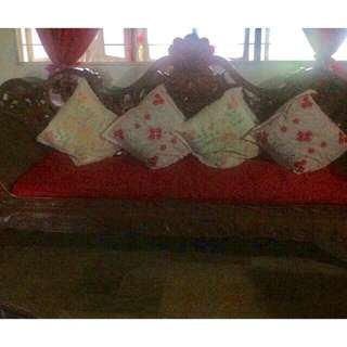 Authentic Red Narra Customize Sala Set