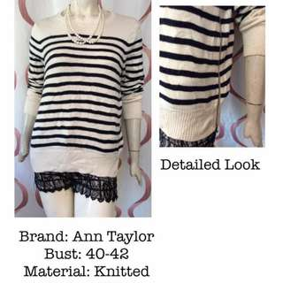 Anne Taylor knitted sweatshirt
