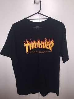 Black Thrasher Shirt  (XL)