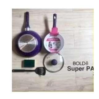 Super Pan Bolde Beigi 3 Pcs Panci Masak Set Terlengkap